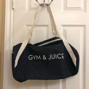 Handbags - GYM & JUICE gym bag